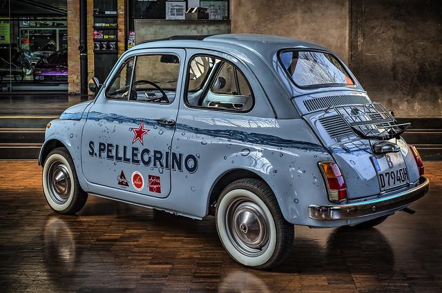 FIAT 500 - S. PELLEGRINO - rear view