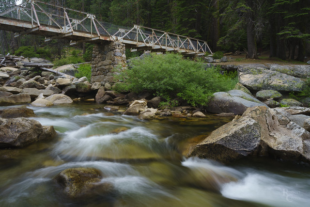 Crossing a Yosemite Creek