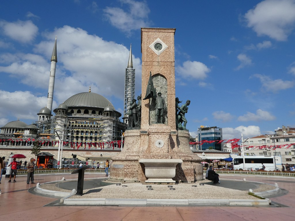 Monument of the Republic, Taksim Square, Istanbul