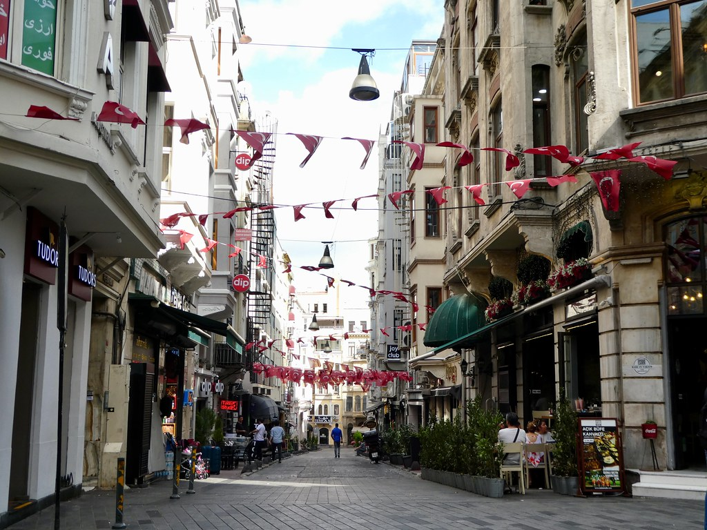 Istiklal Street, Beyoglu, Istanbul