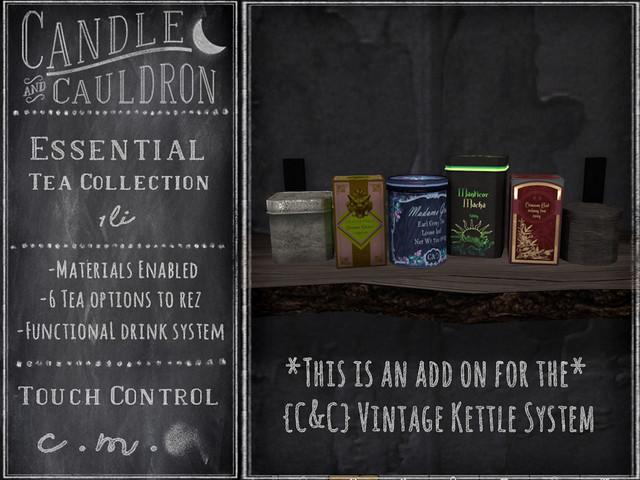 {C&C} Essential Tea Collection