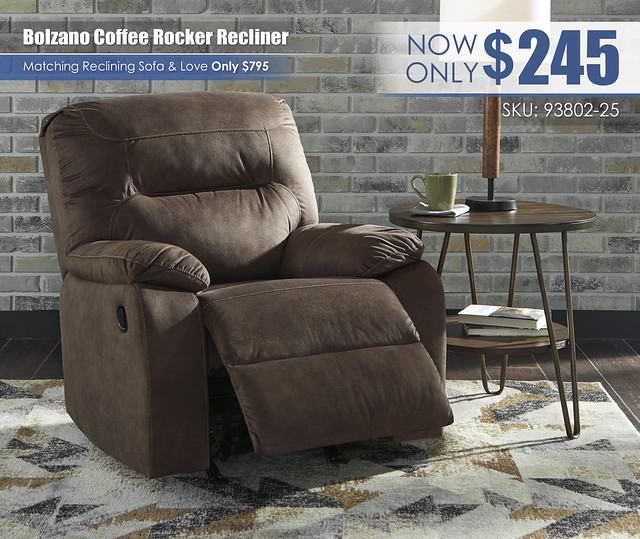 Bolzano Coffee Rocker Recliner_93802-25-OPEN