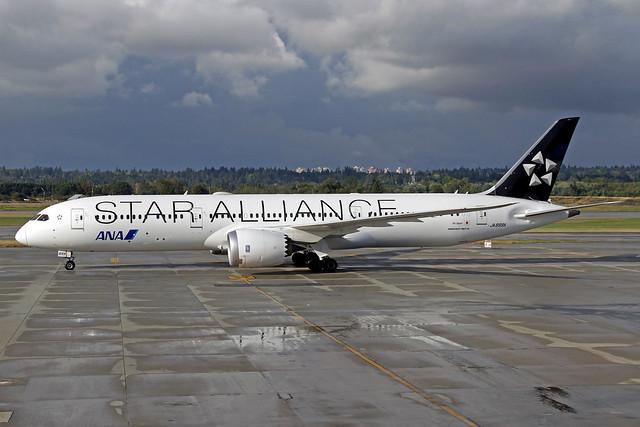 ANA All Nippon Airways Boeing 787-981 JA899A YVR 09-09-19