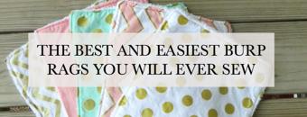 best and easiest burp rags