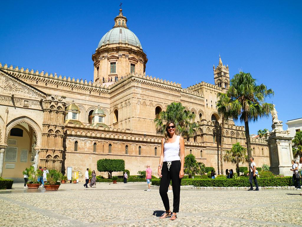 Catedral de Palermo en Italia