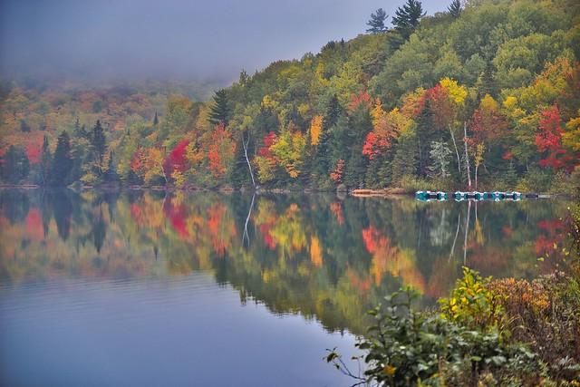 Barques sur le lac Bienvenue