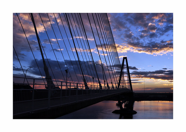 Ravenel Bridge Sunrise