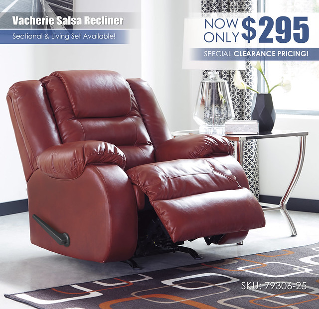 Vacherie Salsa Recliner_79306-25-OPEN