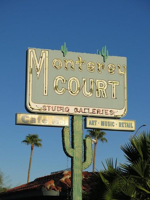 Monterey Court Neon Sign - Tucson, AZ