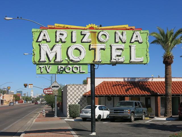 Arizona Motel Sign - Tucson, Arizona