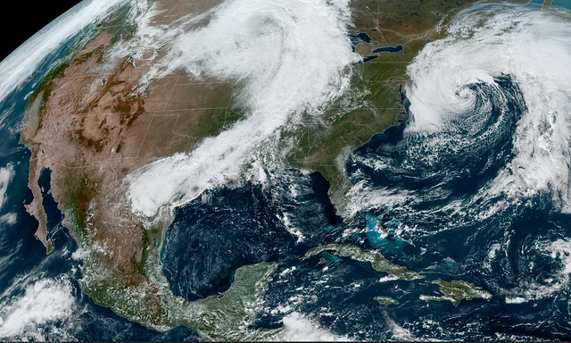 GOES East Focuses on Dual Storm Systems