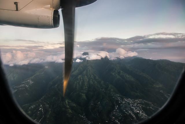 Tahiti from the Sky