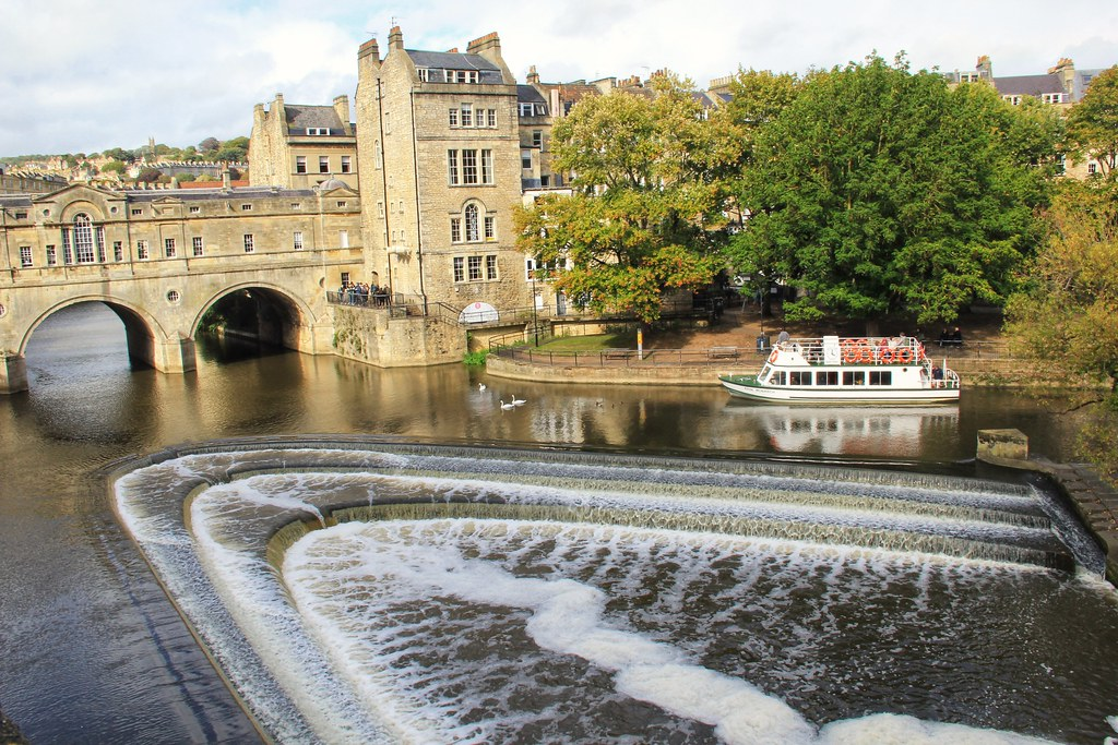 Pultney Bridge and Weir, Bath