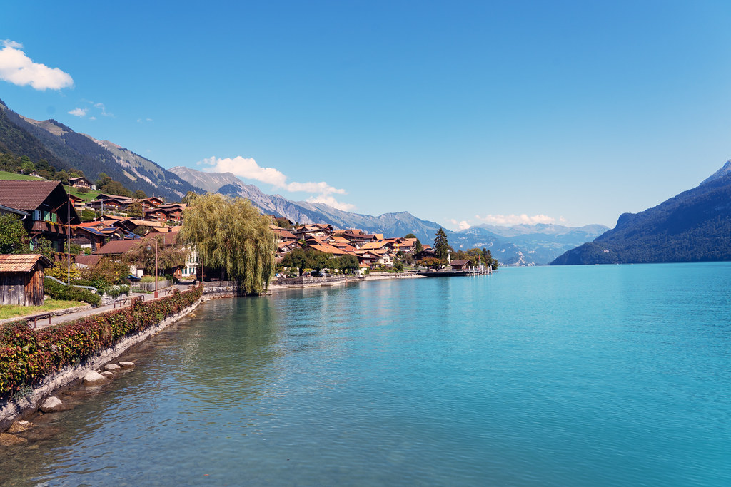 Oberried and Lake Brienz