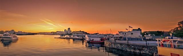 Harbour Sunset Panorama