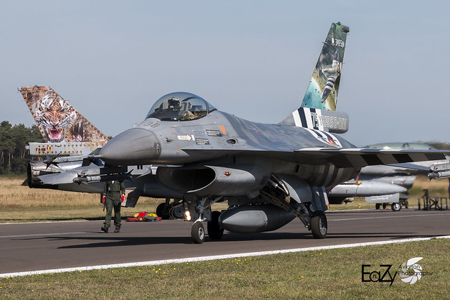 FA-124 Belgium Air Force SABCA F-16AM Fighting Falcon