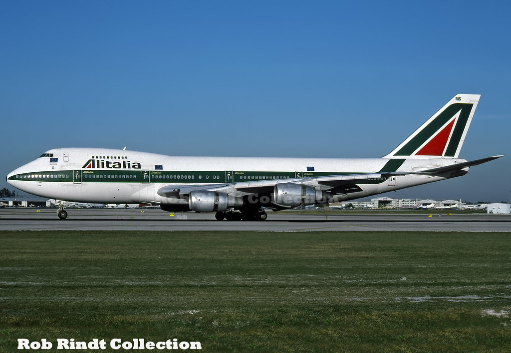 Alitalia B747-243BM I-DEMS