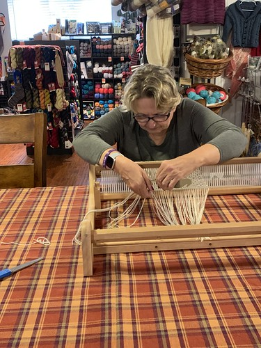Some photos from last Sunday's Weaving Class!