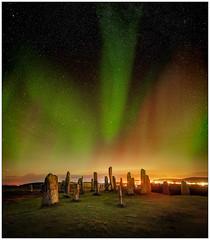Callanish Standing Stones & Aurora, Isle of Lewis