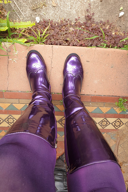 New Shiny Boots