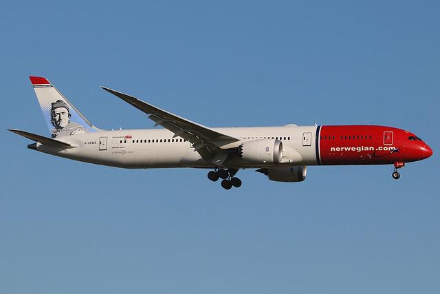 G-CKWS | Boeing 787-9 Dreamliner | Norwegian Air UK