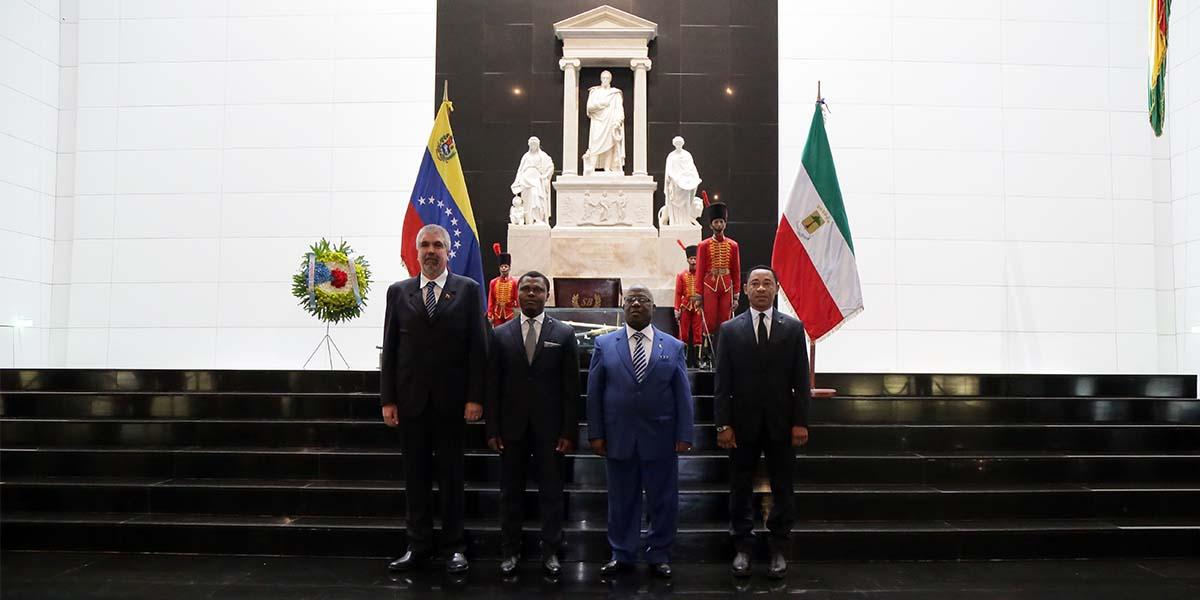 Guinea Ecuatorial celebra en Caracas el 51º Aniversario de la Independencia Nacional