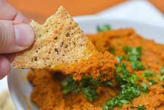 Grill-roasted Spiced Carrot Dip
