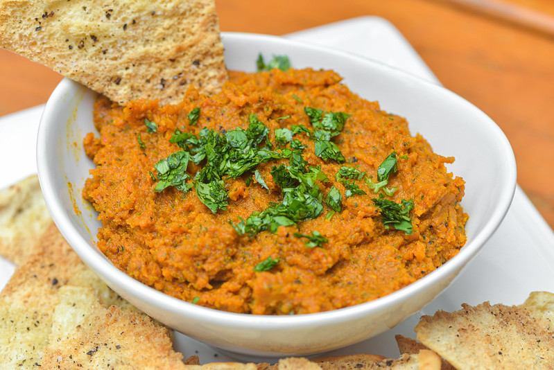 Spiced Roasted Carrot Dip