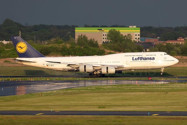 Lufthansa Boeing 747-8 D-ABYL [JFK]