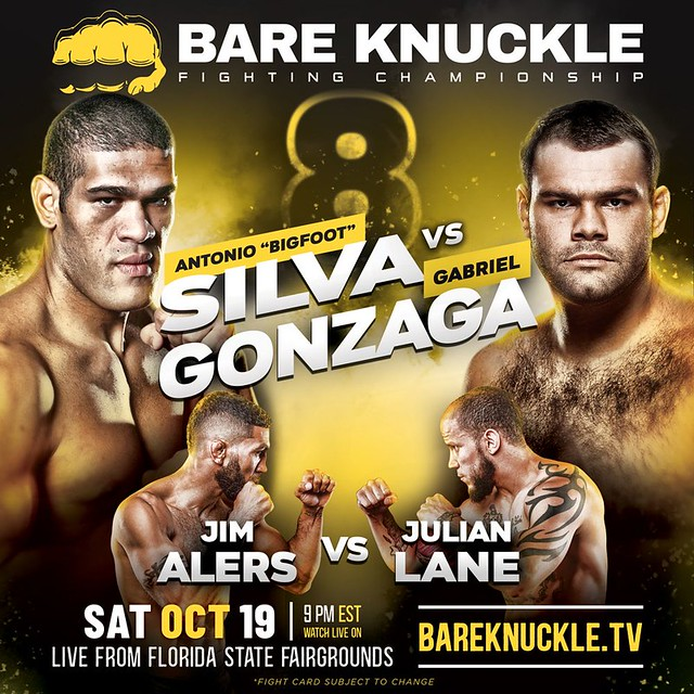 Bare Knuckle FC 8: Bigfoot vs Gonzaga