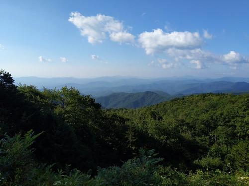 blueridgeparkway northcarolina nc mountains sky trees greenery
