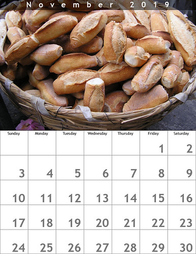 November 2019 Calendar: Birotes