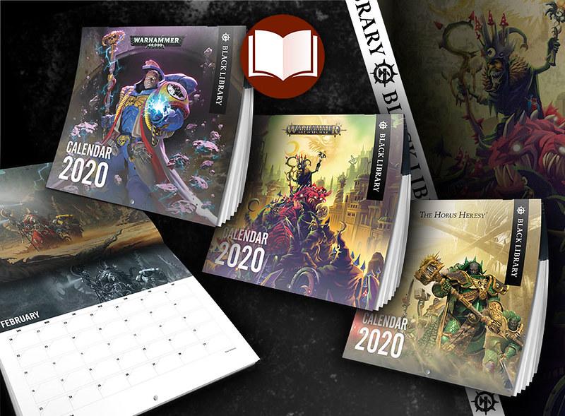 Warhammer 2020 Calendars