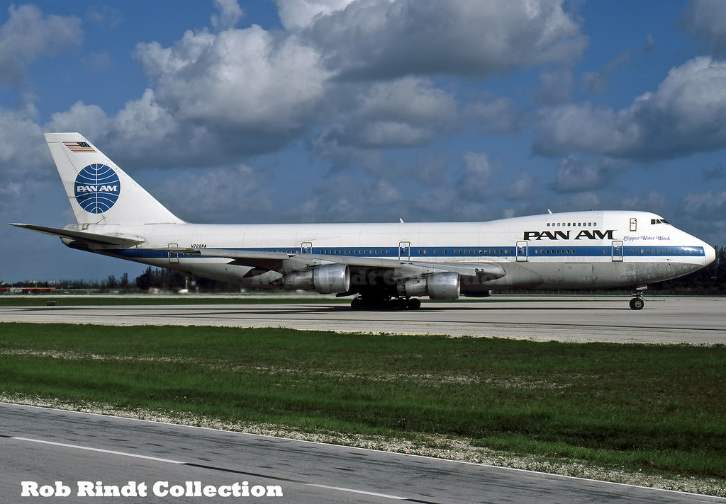 Pan American B747-212B N728PA