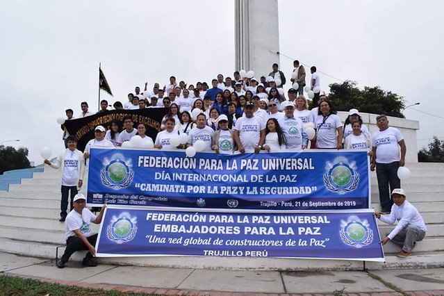 "Peru-2019-09-21-UPF-Peru Sponsors ""Walk for Peace and Security"""