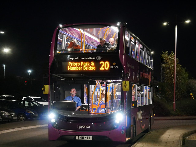 [FAIR LOAN] Stagecoach East Midlands 'Pronto' 10979 - SN18 KTT