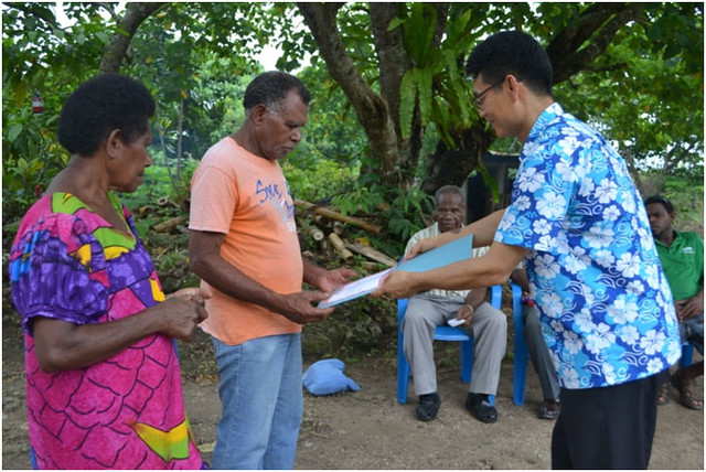 Vanuatu-2015-02-24- Honoring a Model Family