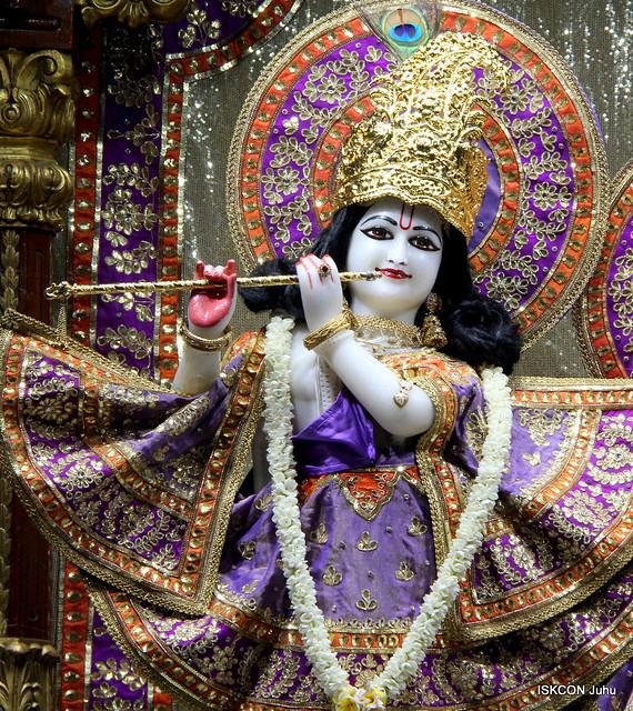 ISKCON Juhu Mangal Deity Darshan on 12th Oct 2019