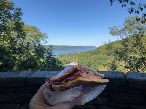 Sandwich by the Hudson