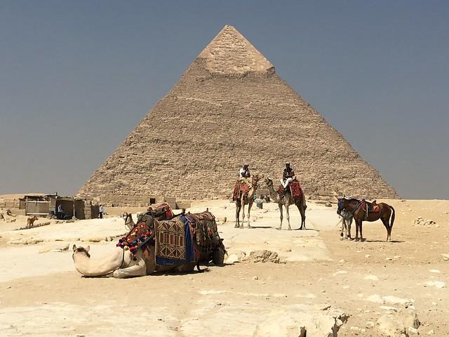 Pyramid of Chefren (Khafre) #1  in Giza
