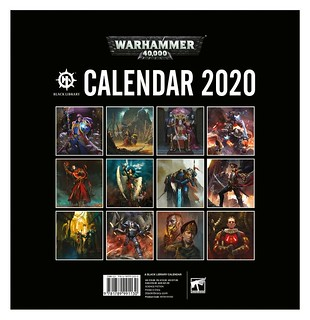 Warhammer 40,000 2020 Calendar