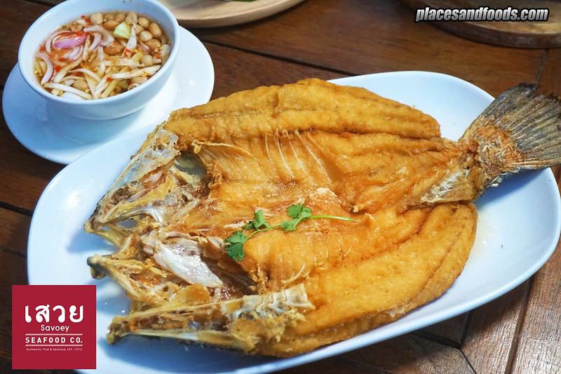 savoey tha maharaj fried fish