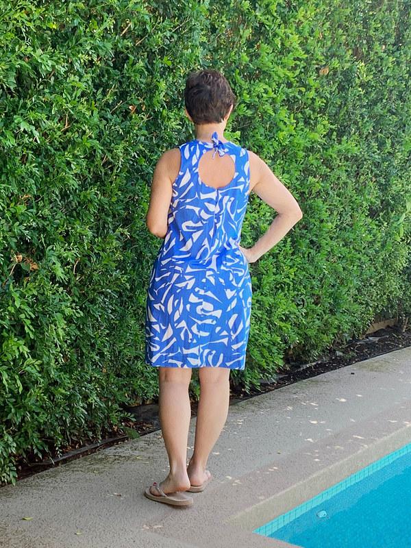 blue dress back view2