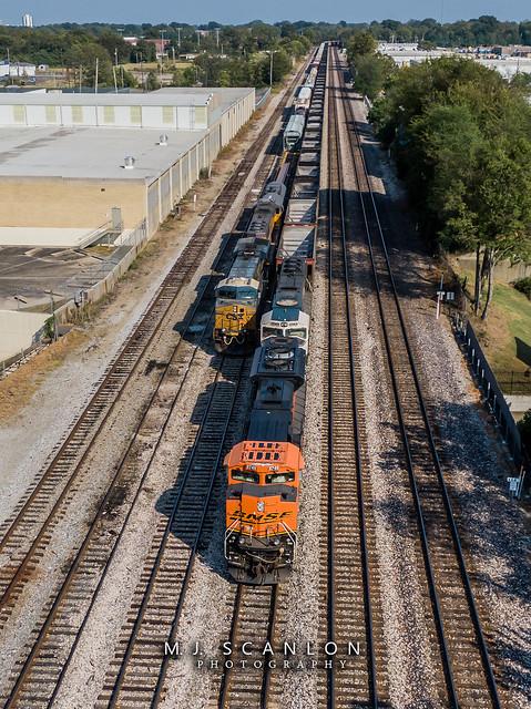 BNSF 8749 | EMD SD70ACe | NS Memphis District