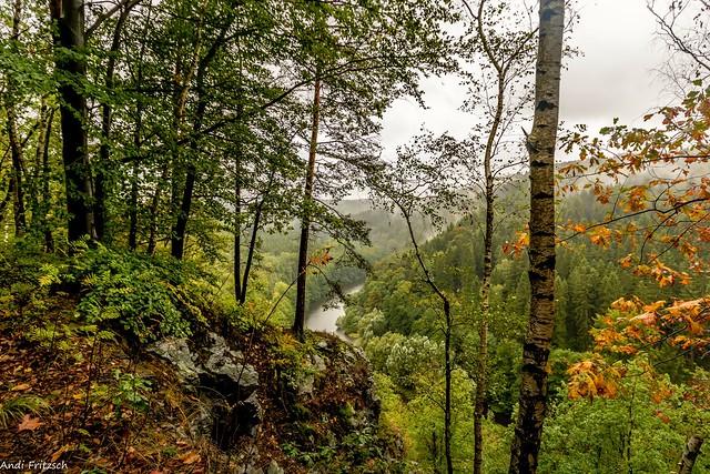 Der Herbst hält Einzug im Zschopautal