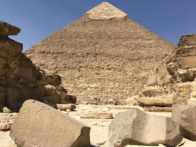 Pyramid of Chefren (Khafre) #3  in Giza