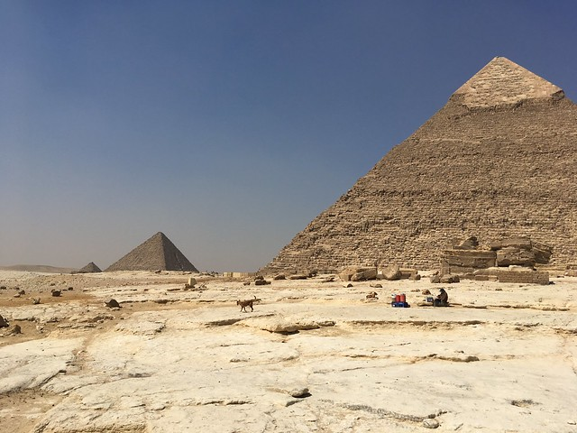Pyramid of Chefren (Khafre) #2  in Giza