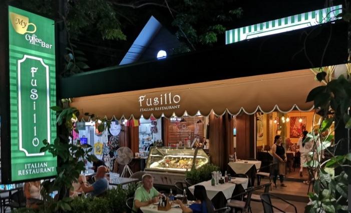 Fusillo Italian food Pattaya