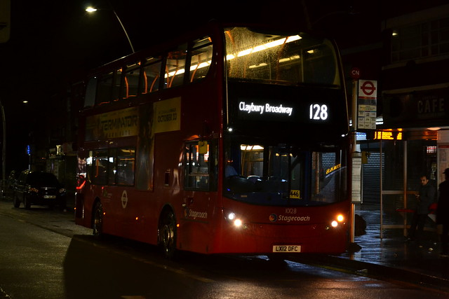 *First Bus* - Stagecoach London - 10128 - LX12 DFC - 128 Claybury Broadway