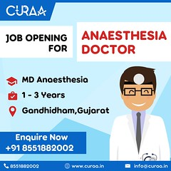 Job Opening for Anaesthesia Doctor in Gujarat
